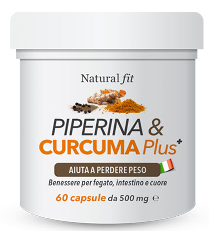 integratore Piperina e curcuma plus