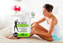 black waxing ceretta nera